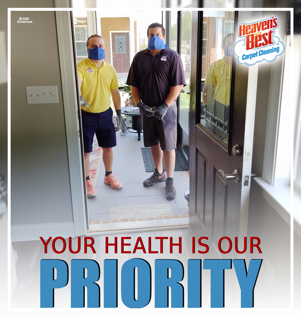 your health is our priority.